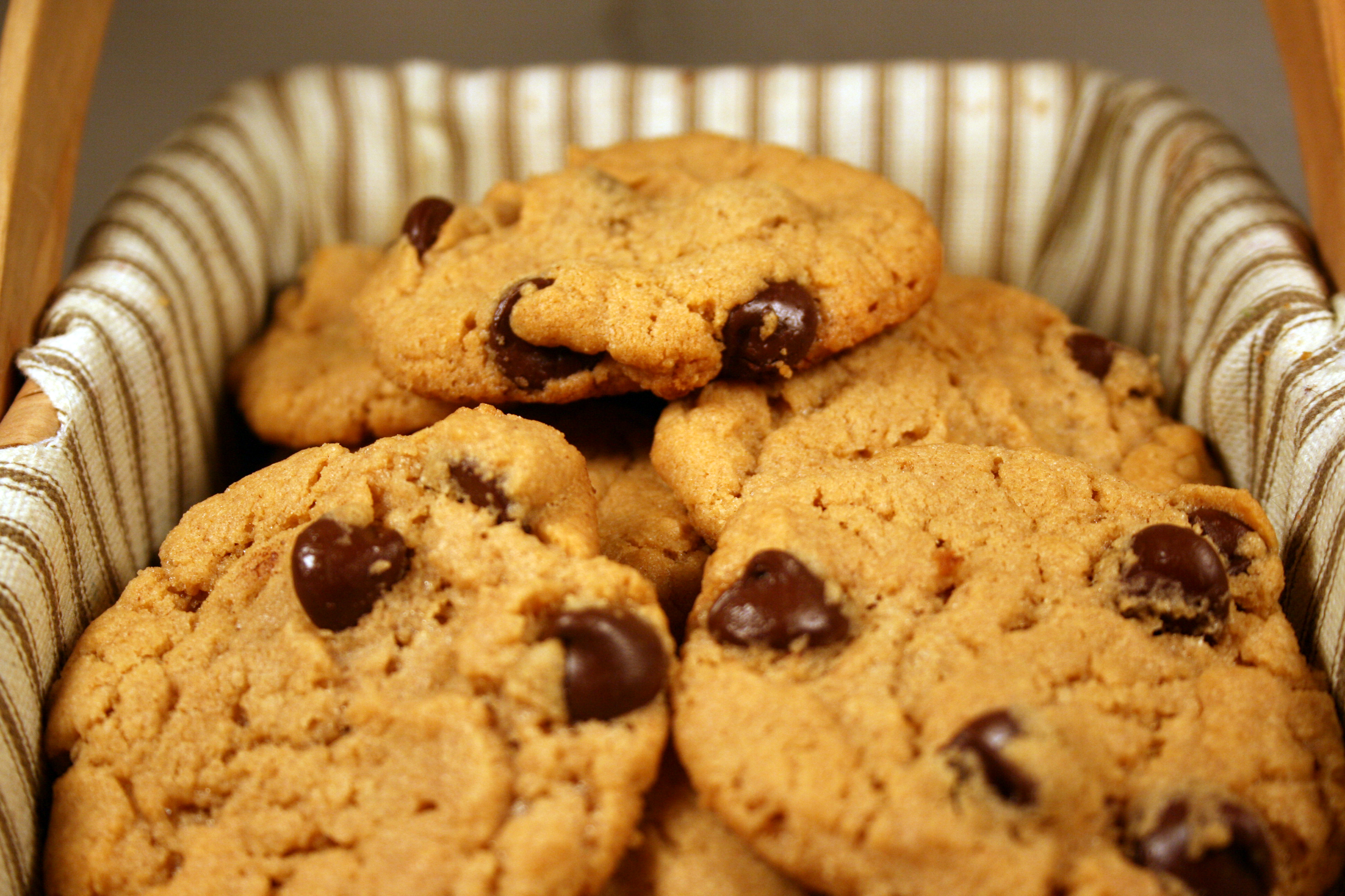 Flourless Peanut Butter Chocolate Chip Cookies Any Kitchen Will Do