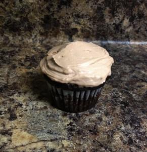 dbl choco cupcakes