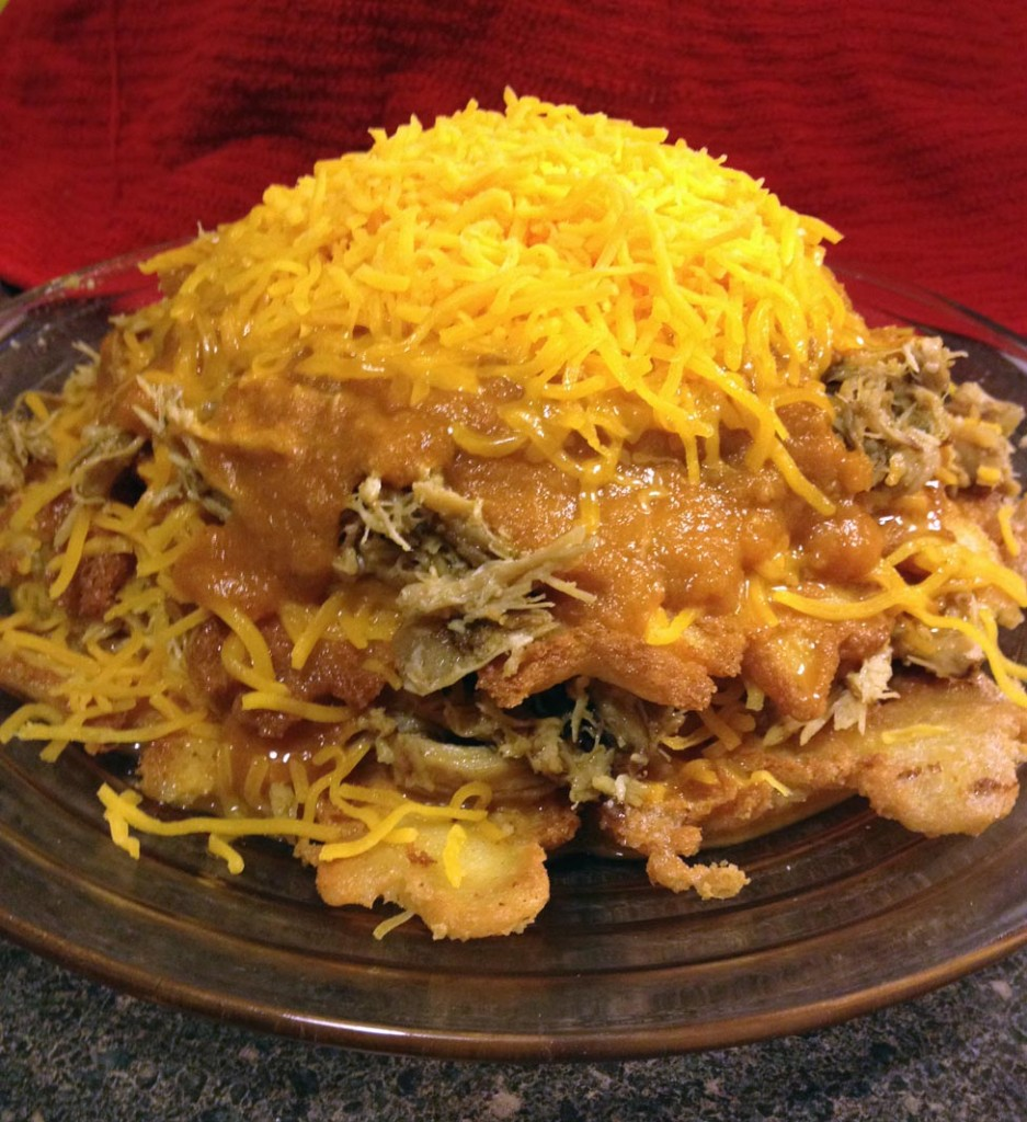 lc layered chicken enchiladas
