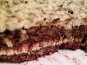 german chocolate fusion cake
