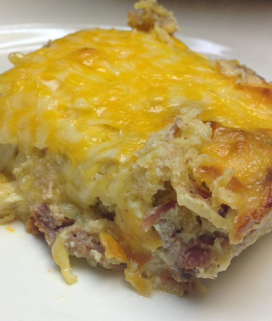 meaty squash bake