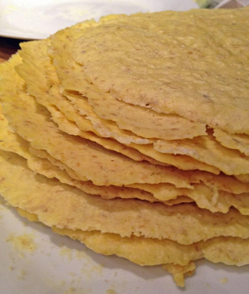 tortilla pile