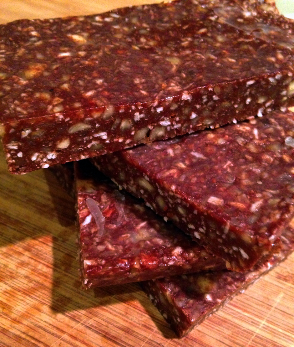 nutty chocolate protein bars