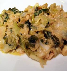 creamy collard cabbage
