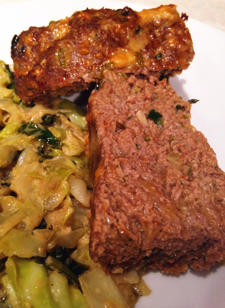 spicy poblano meatloaf