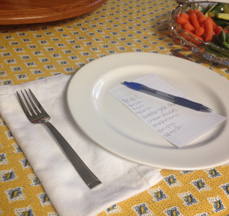 brunch omelet order